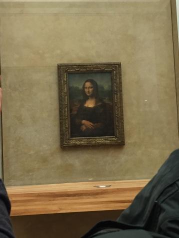The Mona Lisa, Louvre