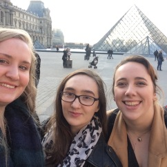 First photo in Paris, Louvre