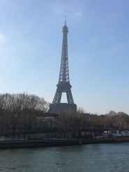 Eiffel Tour from across the river