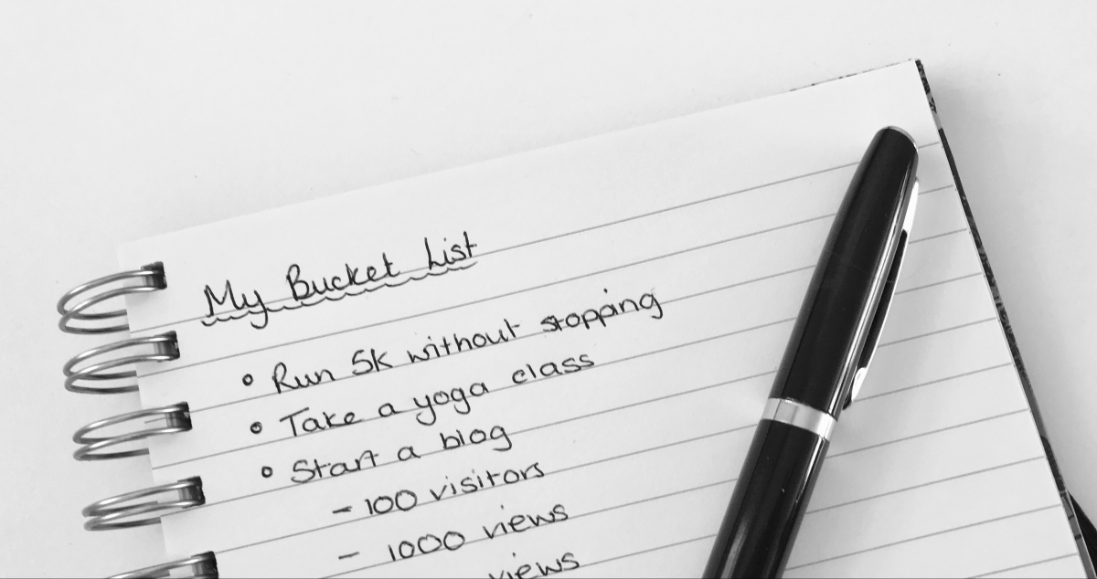 Minimising my Bucket List