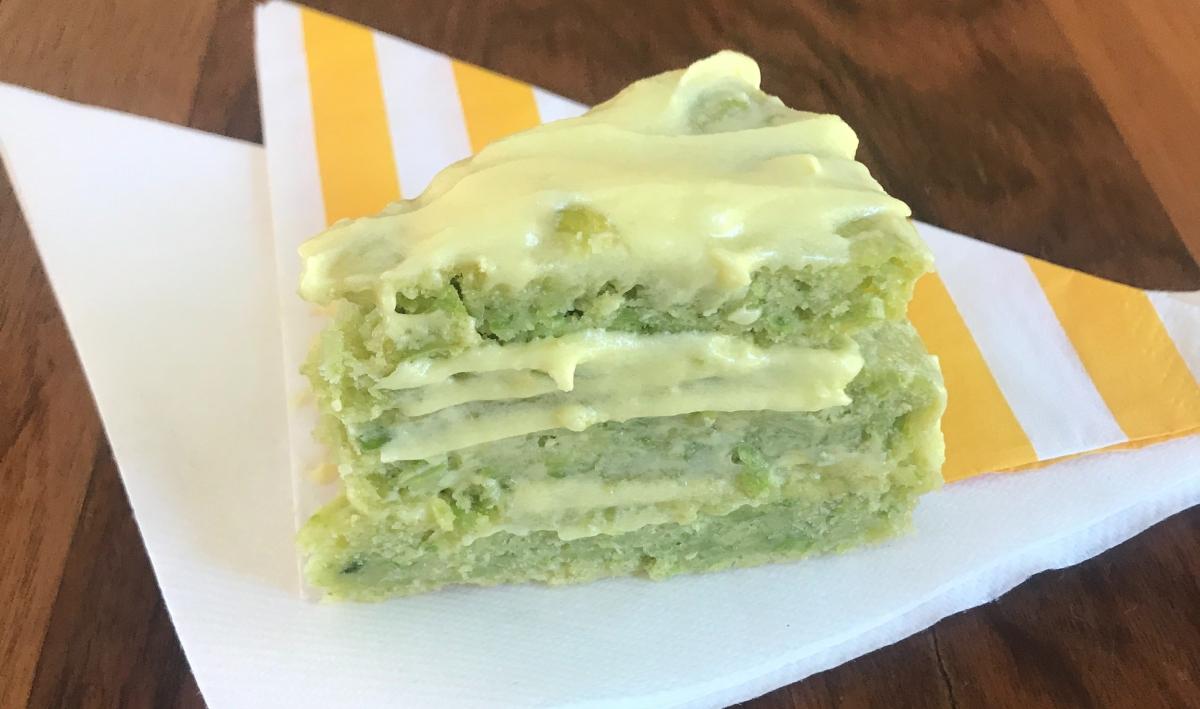 Making Peas Taste Great Again! - Pea, Lemon and Vanilla Cake