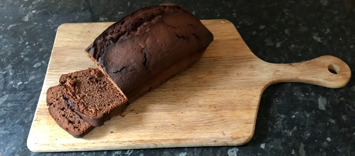 Autumn Baking Begins | Chocolate and Blood Orange Tea Loaf